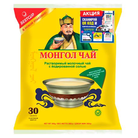 Монгол Чай, 30 пакетиков, 360 гр. в новой упаковке (Imported Original)